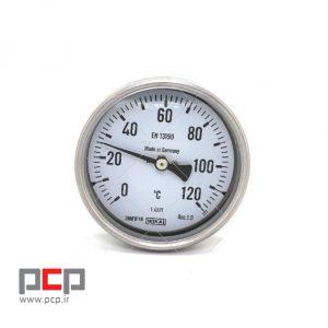 ترمومتر دما ۰ تا ۱۲۰ درجه برند ویکا استیل دنباله ۱۰ سانت