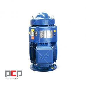 الکتروموتور سه فاز چدنی استریم ۱۳۲ کیلووات ۱۵۰۰ دور عمودی