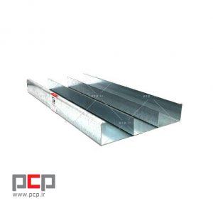 ترانکینگ فلزی کفی برند کاسپین پایپ عرض ۲۰ ارتفاع ۴ سانت ورق ۱.۵ 2