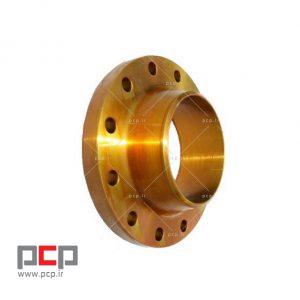 فلنج گلودار فولادی برند MELESI سایز ۱۴ اینچ کلاس ۱۵۰