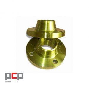 فلنج گلودار فولادی برند MELESI سایز ۱ اینچ کلاس ۱۵۰ 1