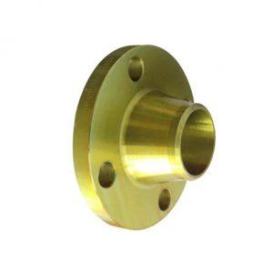 فلنج گلودار فولادی برند MELESI سایز ۱ اینچ کلاس ۱۵۰