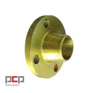 فلنج گلودار فولادی برند MELESI سایز ۱.۲-۱ اینچ کلاس ۱۵۰