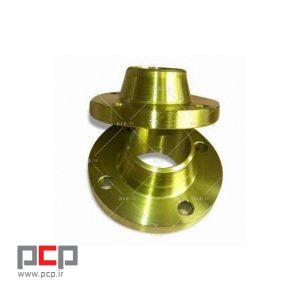 فلنج گلودار فولادی برند MELESI سایز ۱.1۲ اینچ کلاس ۱۵۰
