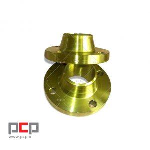 فلنج گلودار فولادی برند MELESI سایز ۱.1۴-۱ اینچ کلاس ۱۵۰