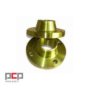 فلنج گلودار فولادی برند MELESI سایز ۳.1۴ اینچ کلاس ۱۵۰