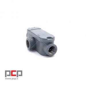 کاندولت آلومینیومی سه راهی برند کاسپین پایپ سایز PG۱۳.۵