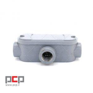 کاندولت آلومینیومی سه راهی برند کاسپین پایپ سایز PG۲۱ 2